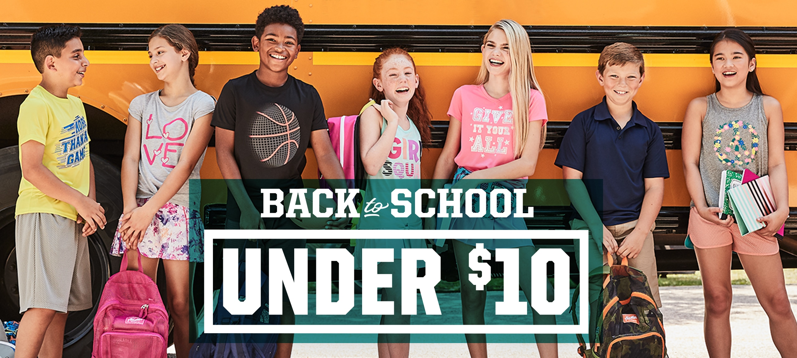 Back To School 2018, Under $10