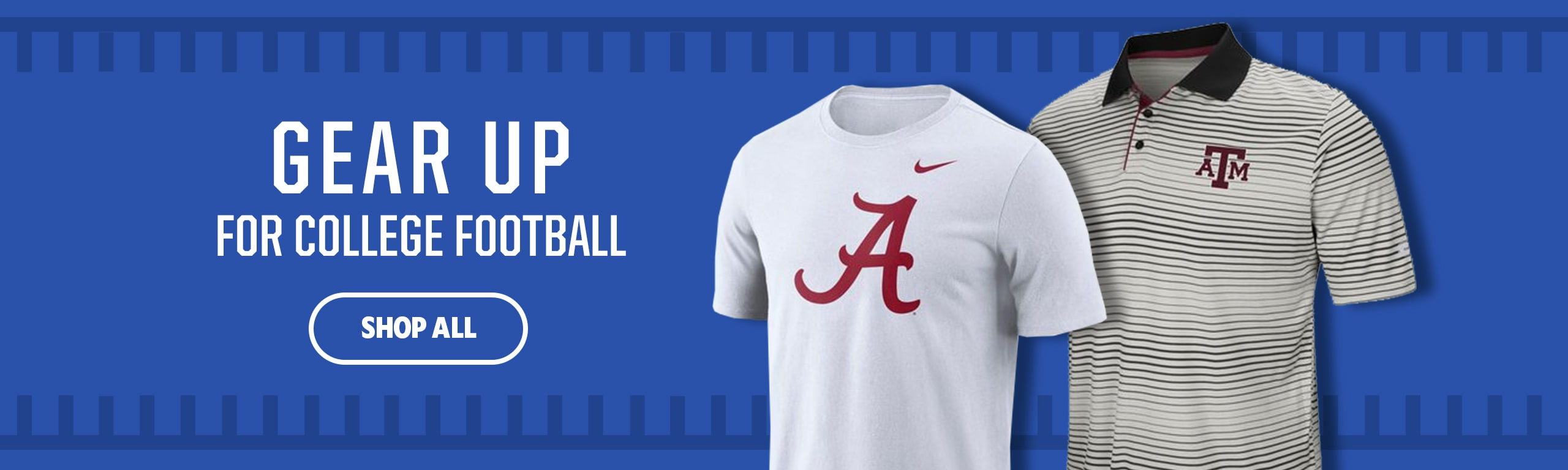 Gear Up for College Football