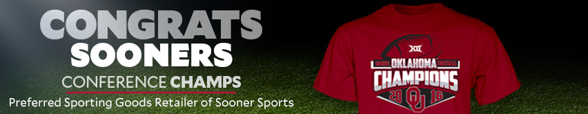 Congrats Sooners. Conference Champs. Preferred Sporting Goods Retailer of Sooner  Sports