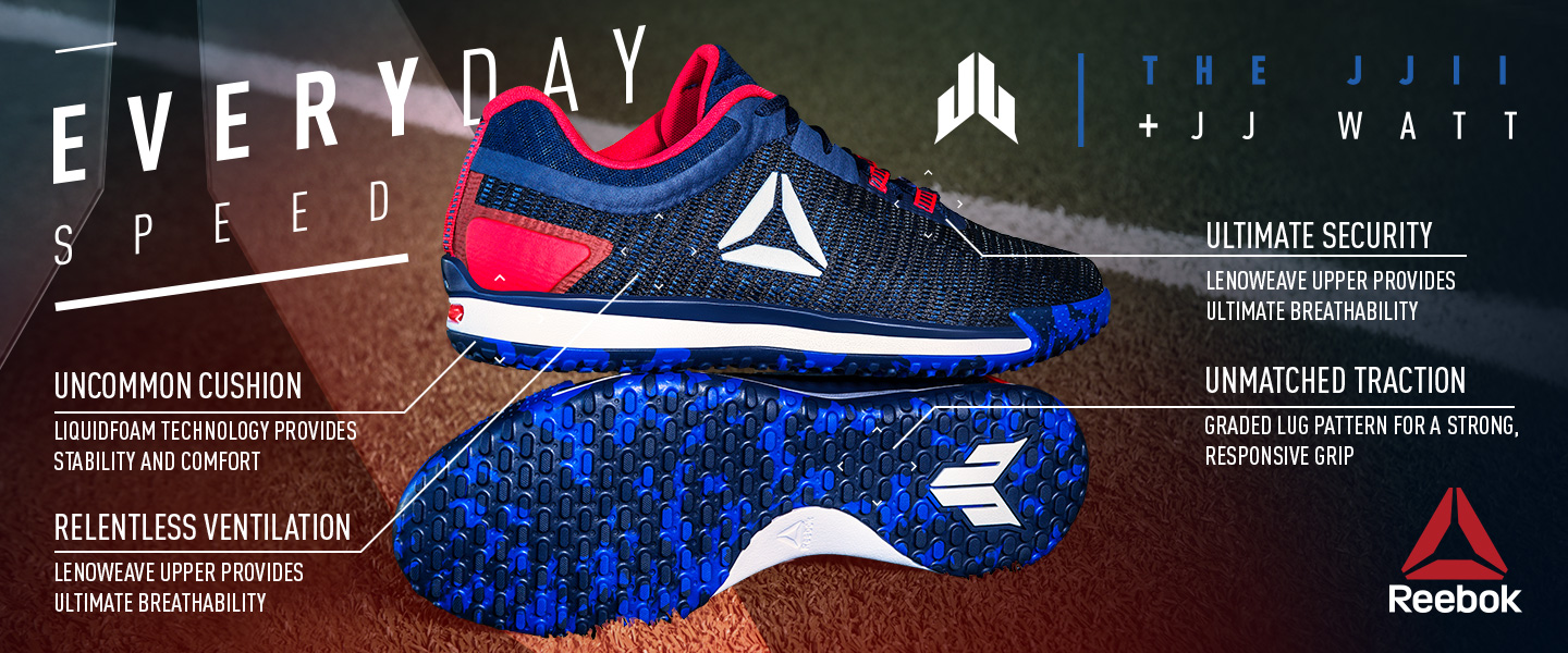 Reebok The JJ II + JJ Watt.