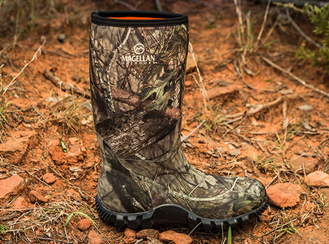 new season. new camo. introducing magellan outdoors camo