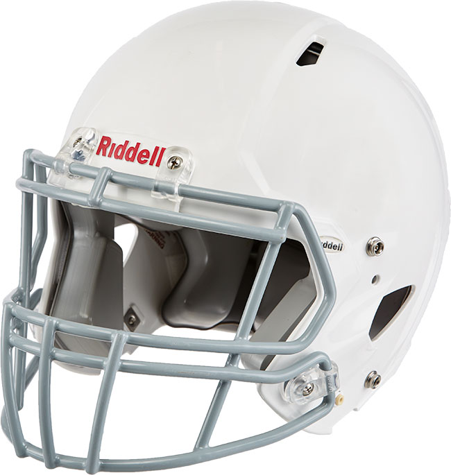 Riddell Youth Edge Football Helmet with 2BD Facemask