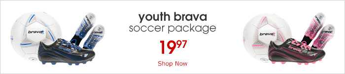 shop brava youth soccer package