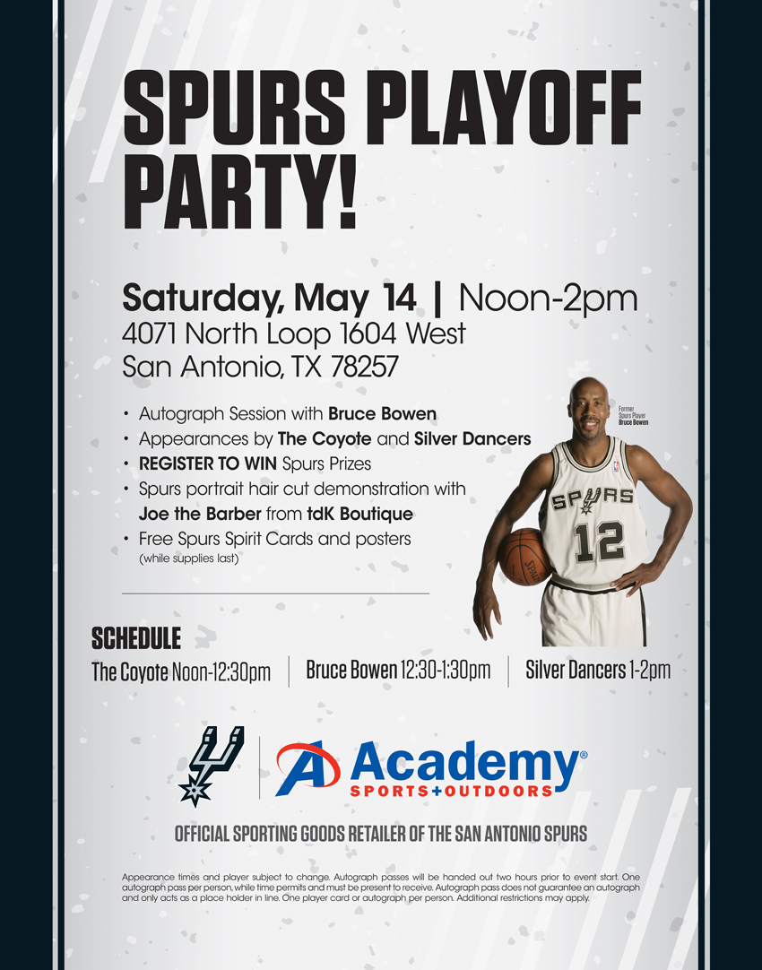 Spurs Playoff Party