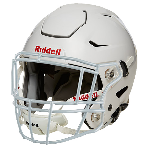 Youth SpeedFlex Gloss Football Helmet with S2EG Facemask