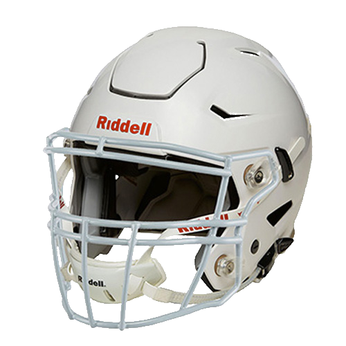 Youth SpeedFlex Gloss Football Helmet with S2BDC Facemask